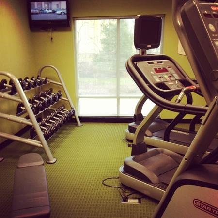 Fairfield Inn & Suites Carlisle : fitness center