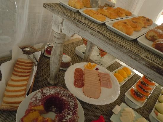Vila d'este: variedad y cosas riquisimas e impecables para desayunar