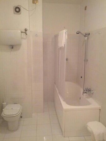 Hotel Park Ge.Al.: bagno 305 sembra piccolo ma è molto grande