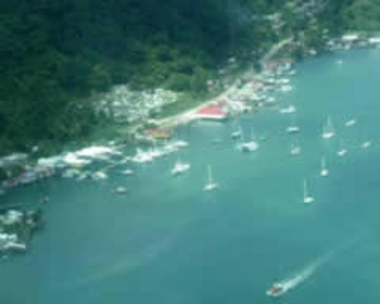 Banana Bay Marina: Aerial view
