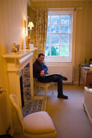 Knockinaam Lodge : Bachelor Room.