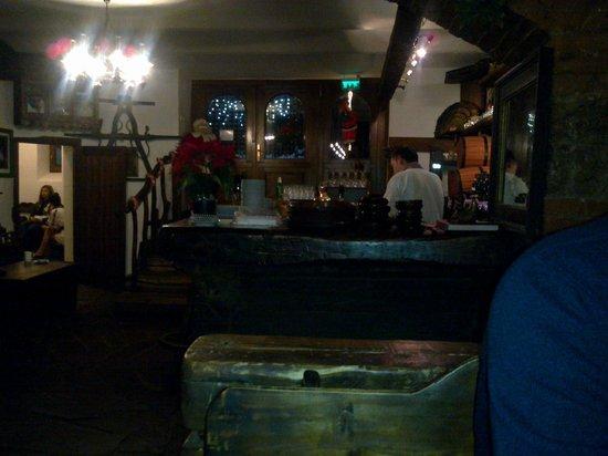 IL bar del ristorante Crama veche