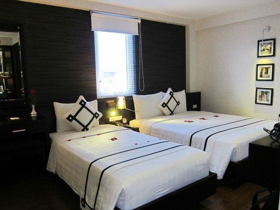 Hanoi Moment Hotel: Familienzimmer im obersten Stock