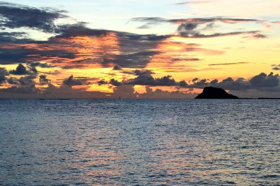 Palm Island Resort & Spa: Sunset at Palm Island