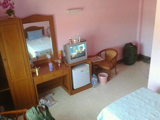 Lanta Sweet Mansion: twin room