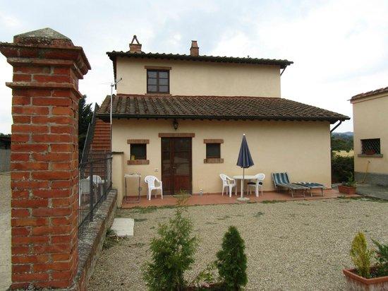 Fattoria Isola, Laterina, appartement voor 2-4 personen