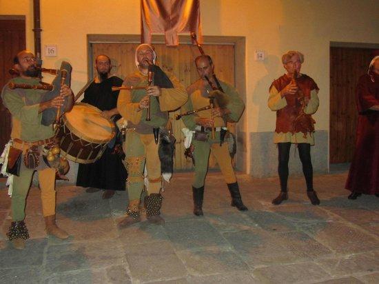 Fattoria Isola: Laterina, middeleeuws festival elk jaar eind juli