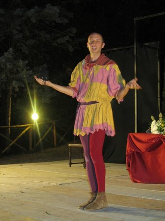 Fattoria Isola: Laterina, middeleeuws festival eind juli