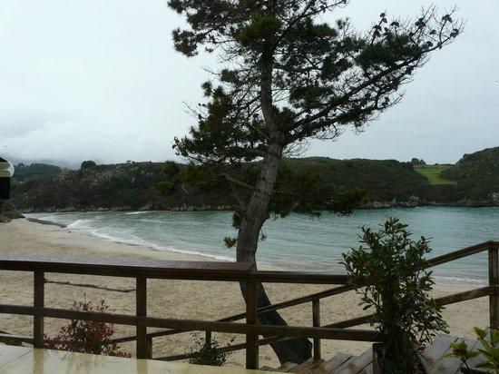 La Farola del Mar: Desde el restaurante...