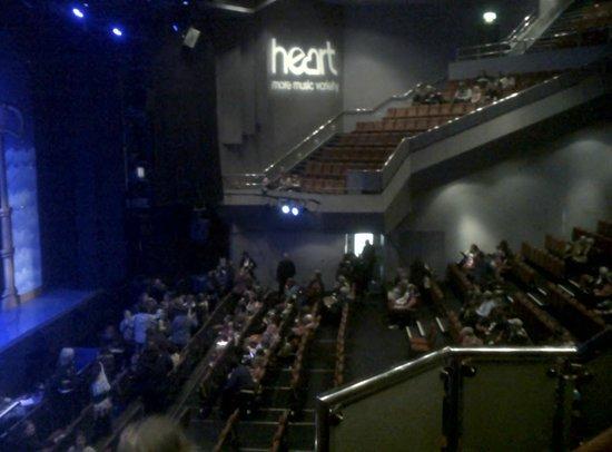 Venue Cymru: Lower stalls in the theatre