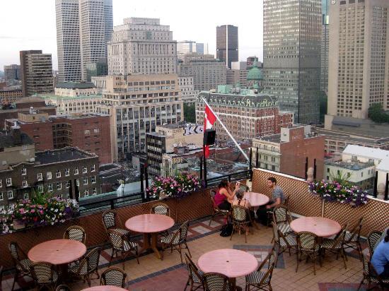 Terrasse Romantique Montreal : La Terrasse Magnetic, Montr u00e9al Centre Ville (Downtown