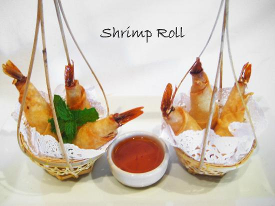 Thai Spice: Shimp Rolls