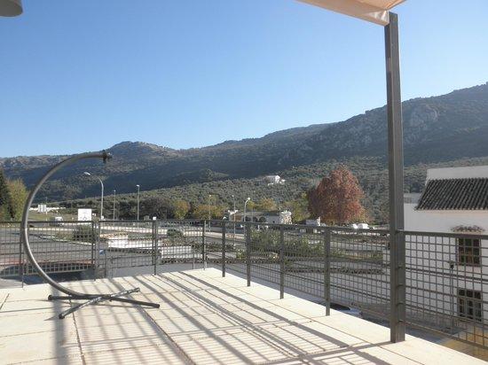 Hotel Mencia Subbetica: Terraza