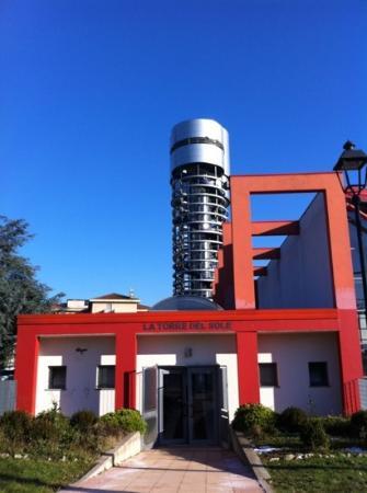 Parco Astronomico la Torre del Sole: L'ingresso