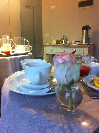 Bed&Cafe: Breakfast area