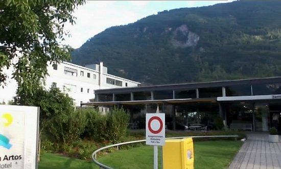 Artos Interlaken: один из корпусов отеля