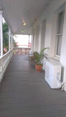 Denison Boutique Hotel: East deck