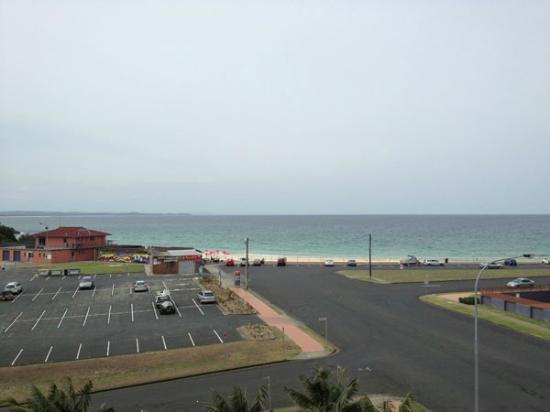Beaches International: Beach view from the deck