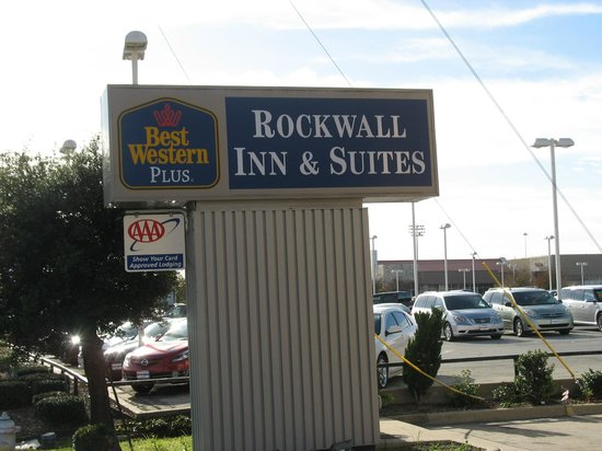 BEST WESTERN PLUS Rockwall Inn & Suites : Entrance