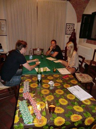 Casa Bini: Poker evening
