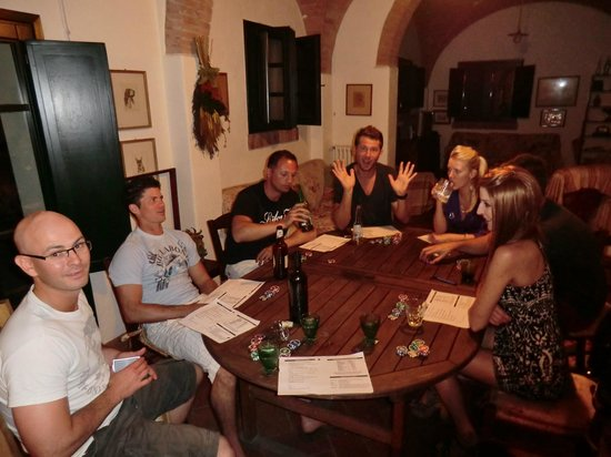 Casa Bini: Poker evening