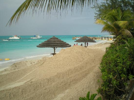 Beaches Turks & Caicos Resort Villages & Spa: replenishing the sand claimed by Hurricane Sandy