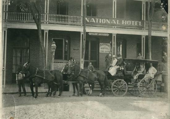 The National Hotel Mid To Late 1800 S
