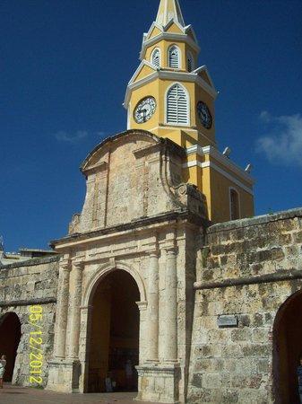 Decameron Cartagena: Torre del reloj
