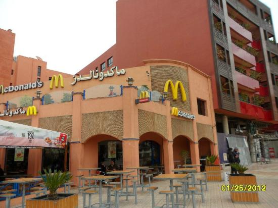 Gueliz: McKD's of Marrakech