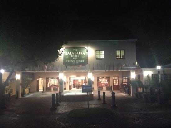 Protea Hotel Balalaika Sandton: Ingresso