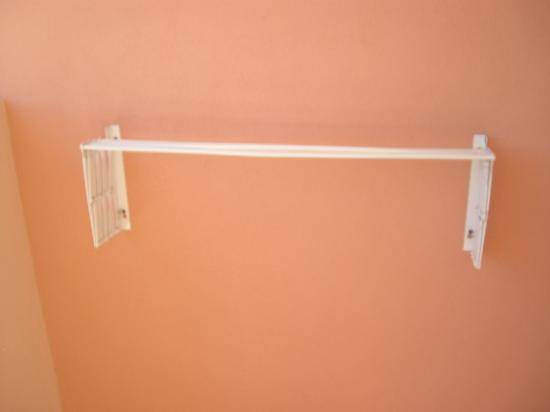 ClubHotel Riu Guarana: Clothes rail on balcony