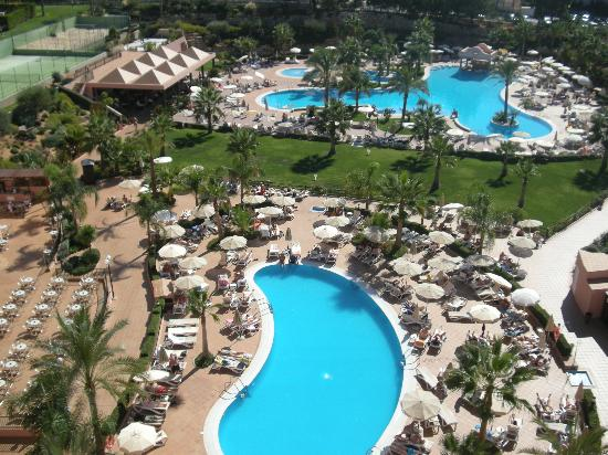 ClubHotel Riu Guarana: View from roof