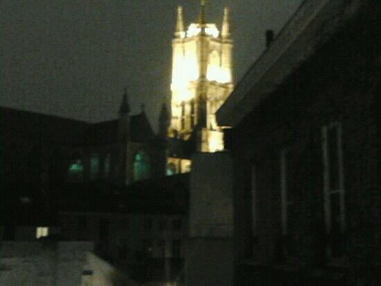 Flandria Hotel: la vista dalla camera 22!