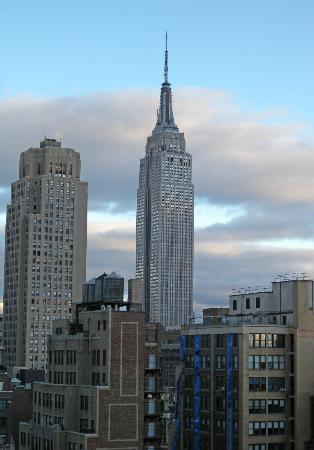 Staybridge Suites Times Square - New York City: The Empire State Building from our room
