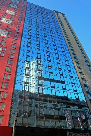 Staybridge Suites Times Square - New York City: 32 stories straight up