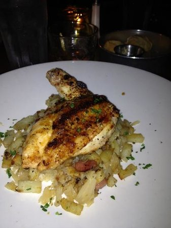 True Midtown Kitchen: lacquered chicken