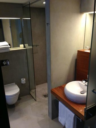 CenterHotel Thingholt: Rymligt fint badrum