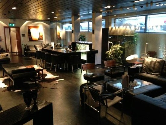 CenterHotel Thingholt: Lounge och liten bar