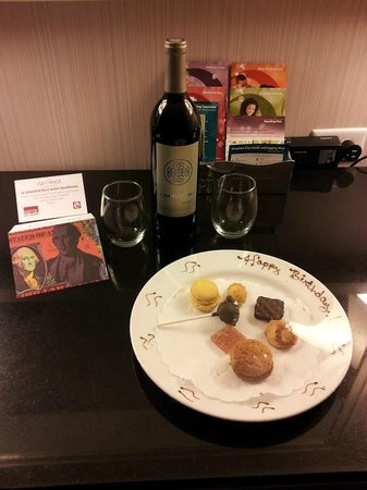The Kimpton George Hotel : Birthday Surprise from the Hotel - Thank You!