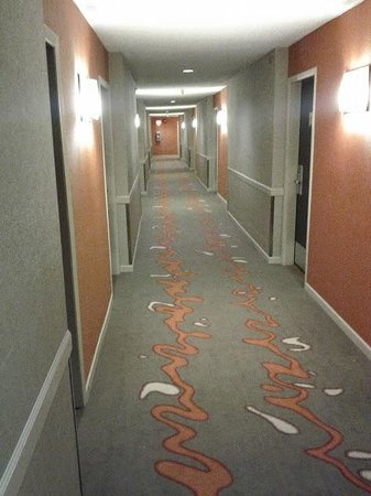 The Listel Hotel Whistler : Carpets are fine, right?