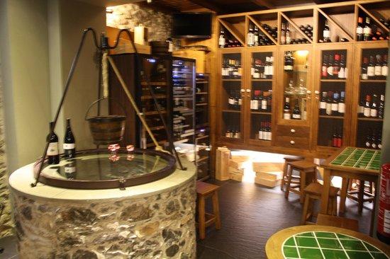 Taberna Ruel: Great wine!
