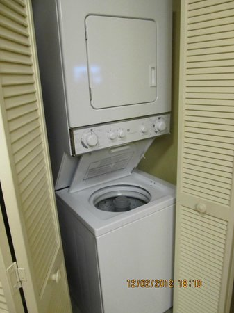 Anderson Ocean Club & Spa, Oceana Resorts: Washer/Dryer