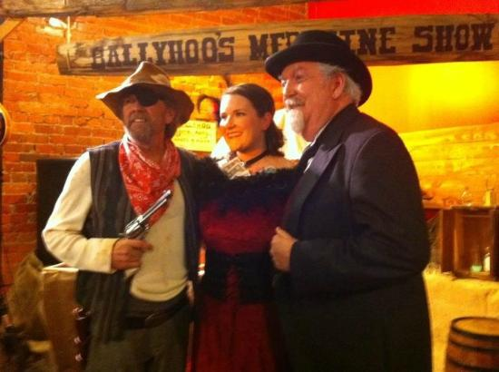 "Southern Broadway Dinner Theater: ""Professor Ballyhoo's Traveling Miracle Medicine Show!"""