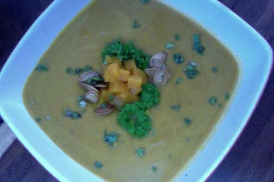 Mike's Global Grill: Pumpkin Soup