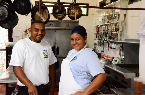 duPlooy's Jungle Lodge : Friendly staff.
