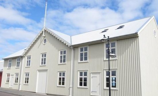 Keflavik, Iceland: The historical Duus-House