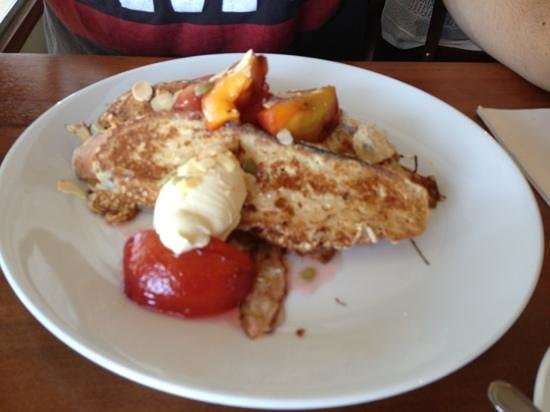 The Blue Swimmer at Seahaven: the French toast