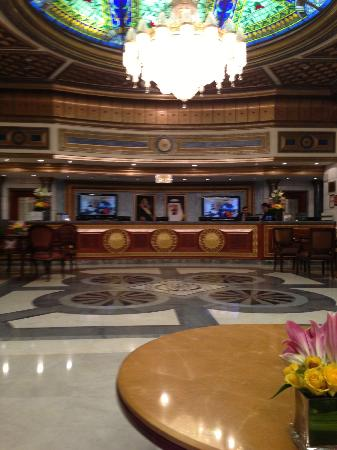 InterContinental Dar Al Tawhid: Front Desk