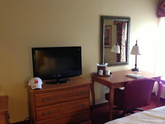 Hampton Inn Bardstown: Room - TV