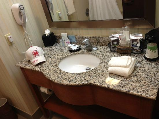 Hampton Inn Bardstown: Bathroom - Sink